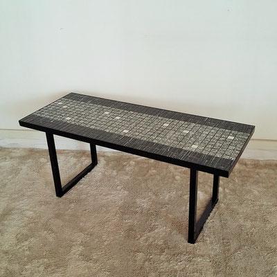 Table basse céramique vintage des années 50