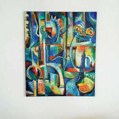 Peinture Jean Henri Brossat