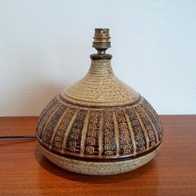 Lampe céramique Giraud Vallauris vintage