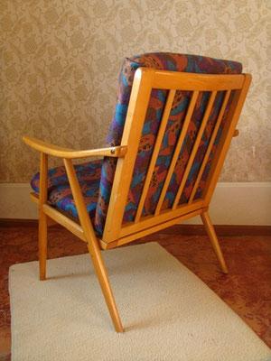 4 fauteuils / chauffeuses Thonet modèle Boomerang