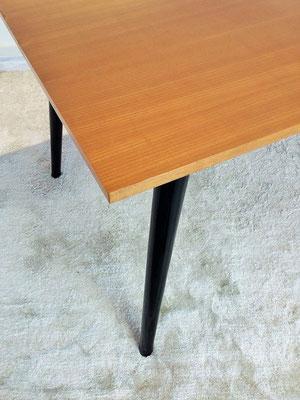 Table compas noir vintage