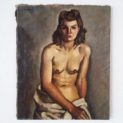 Tableau Femme nue Louis Paul Nyauld