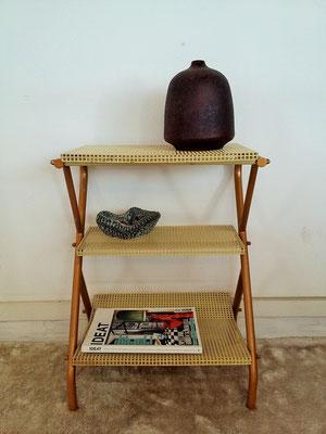 Chevet / bout de canapé / porte revues vintage