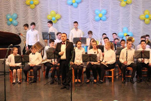 зразковий дитячий духовий оркестр