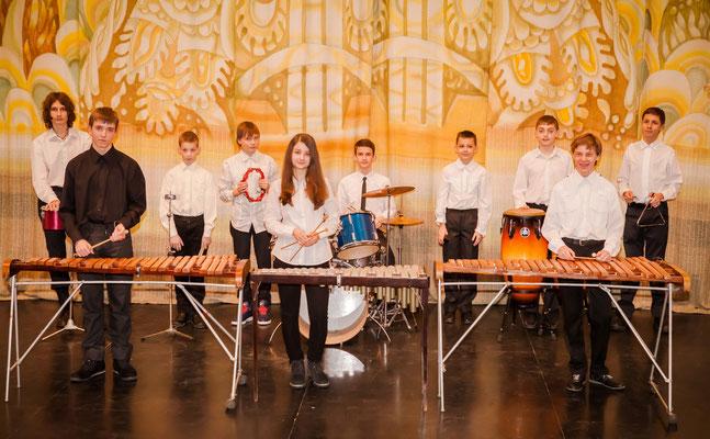 ансамбль ударних інструментів