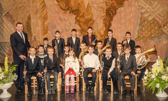 Духовий оркестр молодших класів