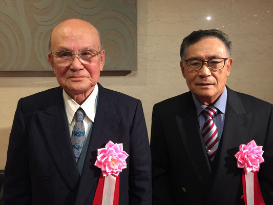 志田 毅さん(左)、山崎 真さん