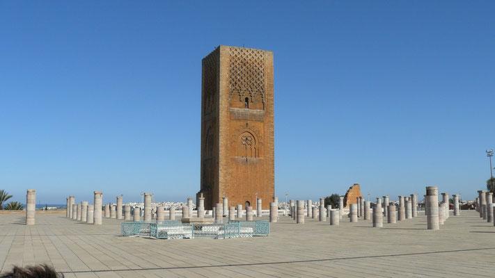 """""""Tour"""" Hassan II à Rabat"""