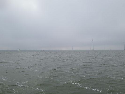 Langsam lichtet sich der Nebel