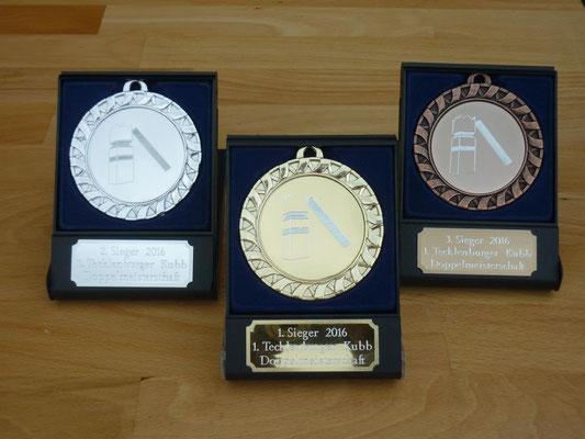 Doppelmeisterschaft Medallien 2016