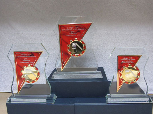 Münsterland Masters Pokale 2013