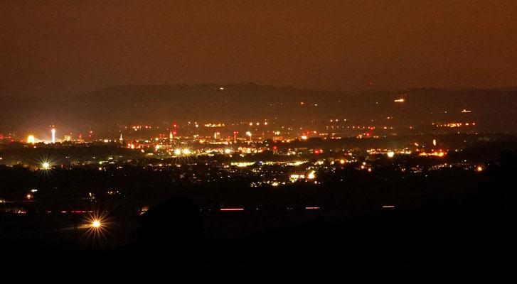 Rosenheim bei Nacht