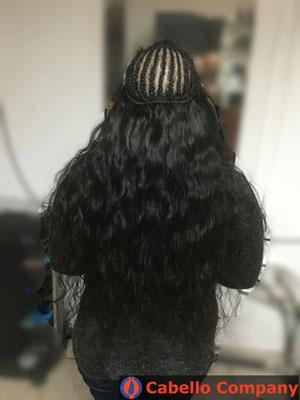 Weaving Echthaar Haarverlängerung mit hochwertigem Echthaar - Cabello Company Frankfurt