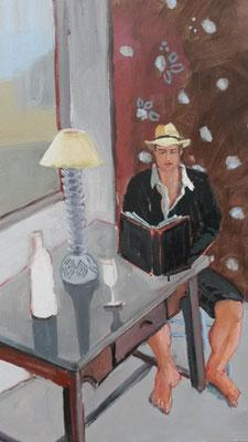 Charles Mougin - Acrylique sur toile - 80x80 cm (POR13)