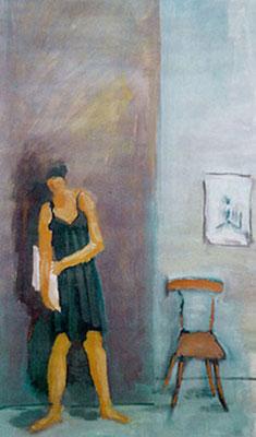 Annabelle - Huile - 55x34 cm - 2002 (MOD20)