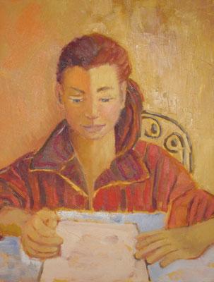 Portrait - Acrylique sur toile - 50x50 cm ()