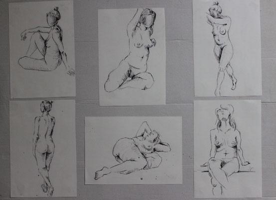 Untitled (2012). Kugelschreiber auf Papier.