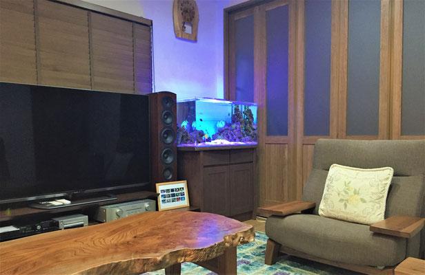 海水魚水槽 個人宅設置事例