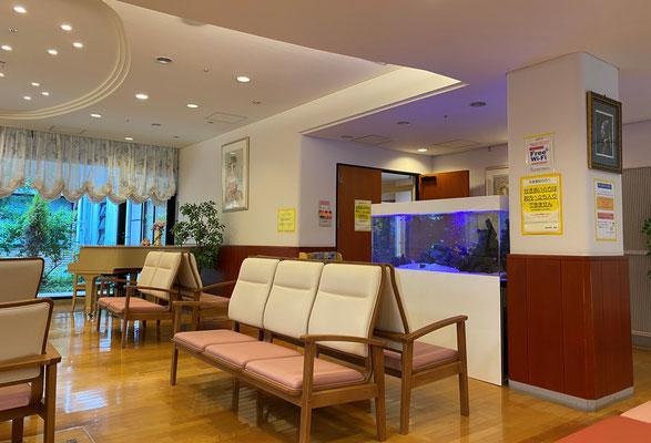 病院待合室