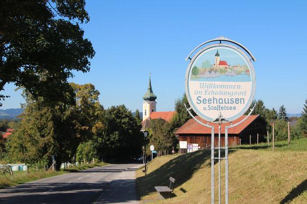 Seehausen Ortseingang