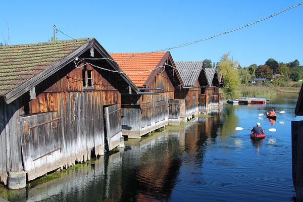 Bootshütten am Staffelsee