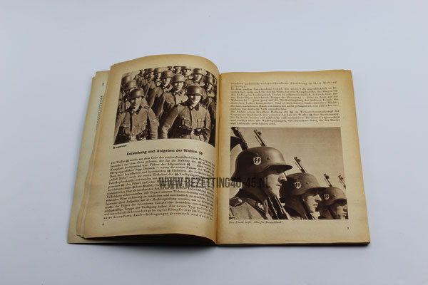 "SS werving brochure ""Dich Ruft die SS"" vrijwillige aanmelding bij de Waffen SS"