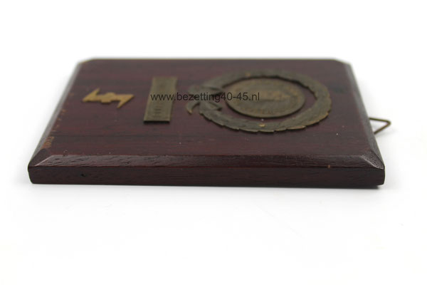 "NSB WA Groepsprijs ""Mars Amsterdam - Weesp"" , medaille."