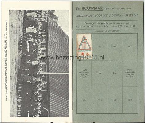 NSB Stichting Nationaal Tehuis 3e bouwjaar 1940 - 1941.