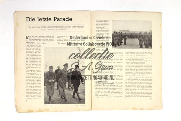 """Dutch NSB Magazine Vorming """"Gruppe Niederland""""."""
