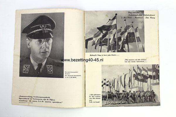 NSB-Nederlandse-Arbeidsdienst-Propaganda-tijdschift-brochure-