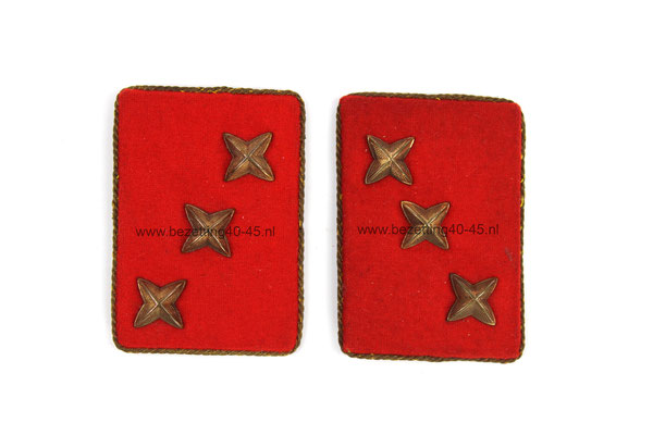 Kraagspiegels Weerafdeling (WA), Deze rang behorende toe aan de W.A. man rang, Hopman (8).