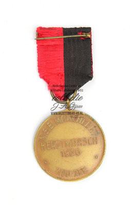 N.S.B. Mussertmedaille 1936. NSB WA Mussert Medaille Medal 1936.
