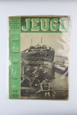 Tijdschrift Jeugd nummer 11. 1944