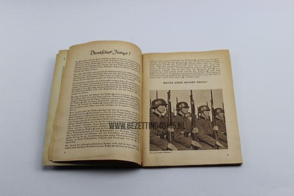 """SS werving brochure """"Dich Ruft die SS"""" vrijwillige aanmelding bij de Waffen SS DUTCH SS FOREIGN LEGION"""