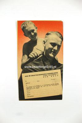 Nederlandse Waffen SS werving Brochure / Flyer / Poster
