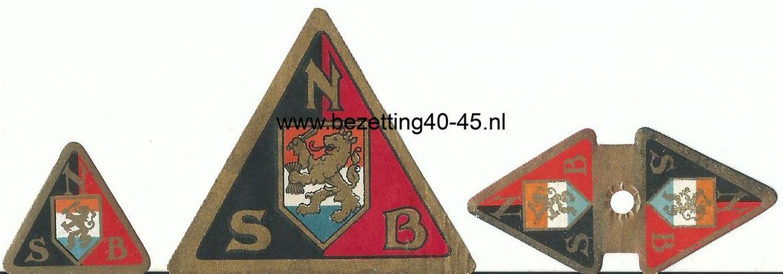 NSB Propaganda sluitzegels.