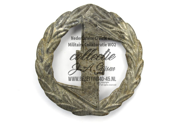 Ruil NSB WA Sport Insinge. DUTCH SS FOREIGN LEGION VOLUNTEER.  ( NSB Badge Pin )
