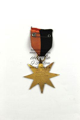 NSB WA Bloembollenmars medaille 14 April 1941.