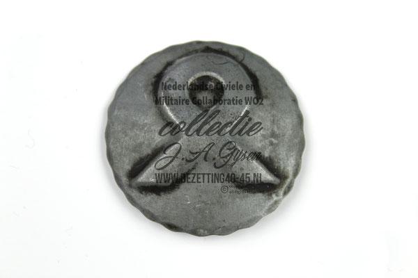 NSB Broche  Nederlandse Heemkunst Odalrune.  ( NSB Badge Pin Medal )
