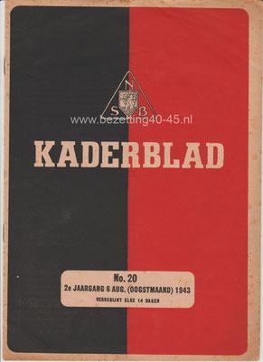 2e jaargang 6 augustus No. 20 - 1943