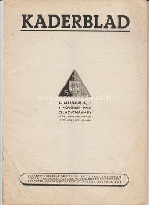 2e jaargang 1 november No. 1 - 1942