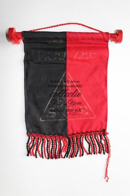 """NSB Banner Tafel Vaantje """"HOU ZEE NSB"""""""