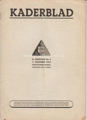 2e jaargang 11 december No. 4 – 1942