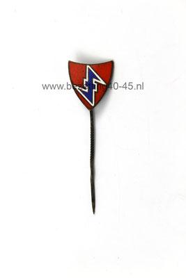 NSB lidmaatschap speld voor leden in Duitsland (NSBD). Dutch NSB Badge Pin Medal