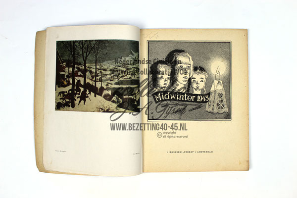 Nederlandse SS - Germaanse SS Midwinter Jul 1943 boek.