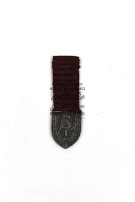 Nederlandse Arbeidsdienst Miniatuur sport medaille - Dutch NSB NAD Labour Servic sport medal.