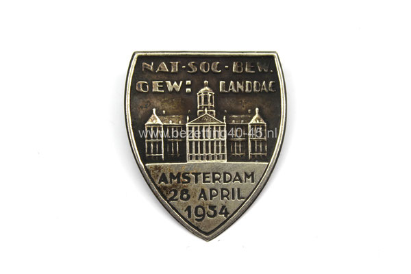 NSB speld Gewestelijke landdag Amsterdam 28-4-1934.