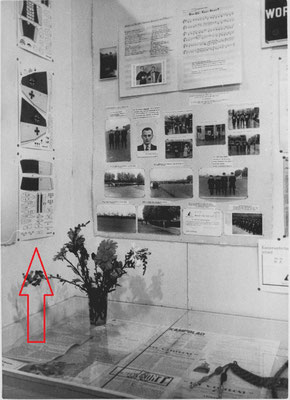 NSB Tentoonstelling Herlevend Nederland 1942 -  WA Luchtvaart LUWA bouwplaat STUKA JU 87