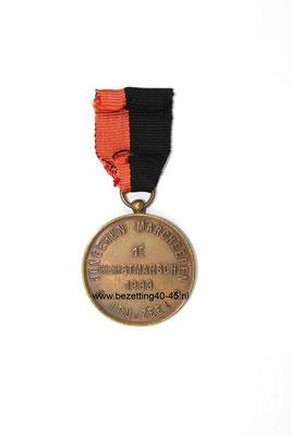 NSB Mussert medaille, kerstmars 1933.