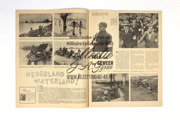 Dutch NSB Magazine Werkend Volk Nr.3/4 - 9 Maart 1945.